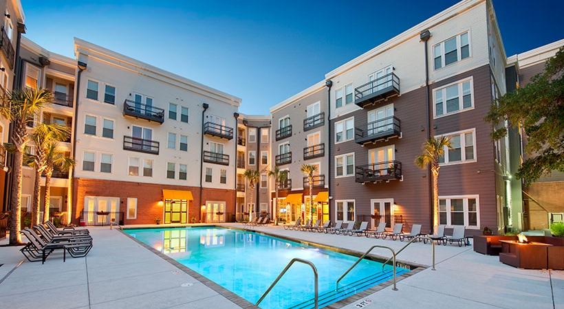 Courtyard Saltwater Pool