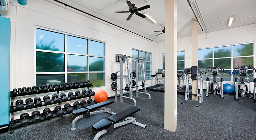 3,200 Square Foot Commercial Fitness Center